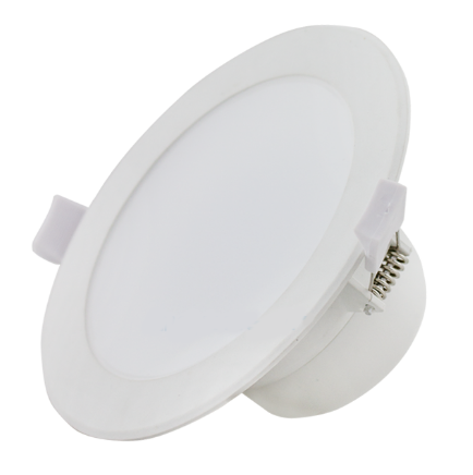 Oprawa sufitowa podtynkowa LED 7W okrągła IP44 zimna 6000K